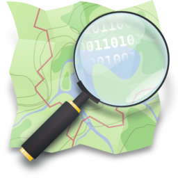 Open street map logo.